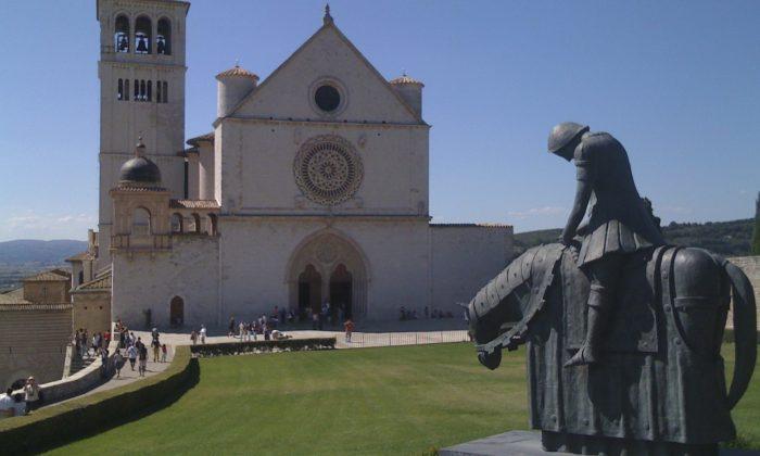 Basilica Assisi - Don Quixote