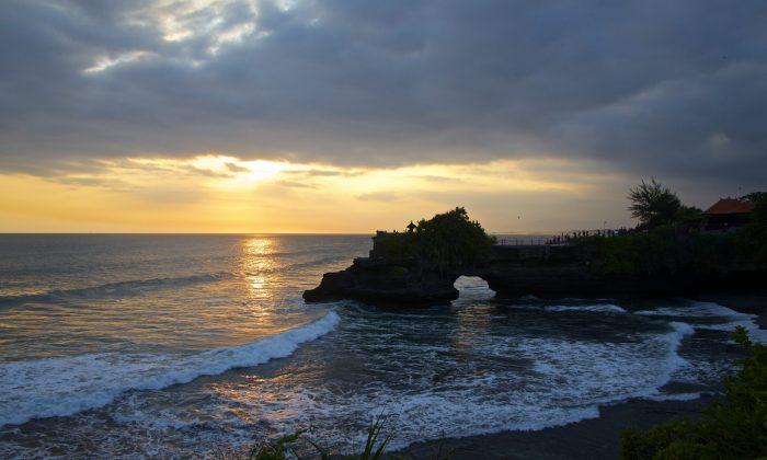 Beach Scene - Bali